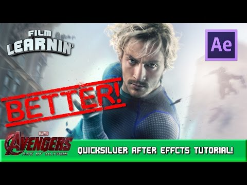 Quicksilver After Effects Tutorial - Custom Particles! | Film Learnin