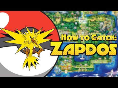Pokemon Red How to Catch Zapdos
