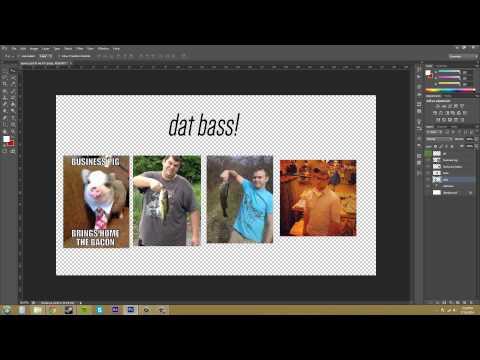 Photoshop CS6 Tutorial - 54 - How to Easily Combine Layers