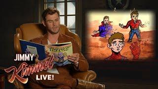 Avengers Cast Reads New Thanos Children's Book