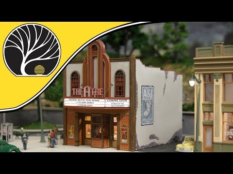 Theater – N, HO & O Scales | Built-&-Ready® | Woodland Scenics | Model Scenery