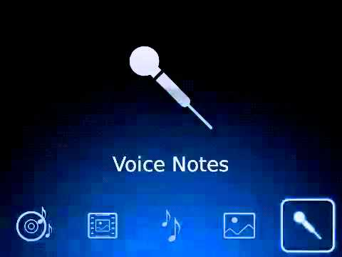 How to Play a Voice Note on your BlackBerry