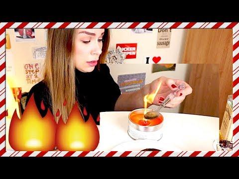 FAIL - Lighting a Christmas Cake on Fire