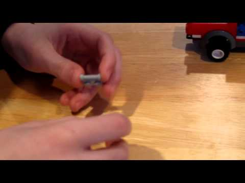 How to Make a Lego Snow Plow 2 - side plow