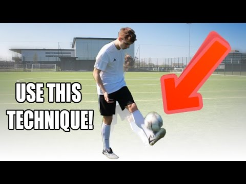LEARN HOW TO JUGGLE THE BALL WITH EASY TECHNIQUES!