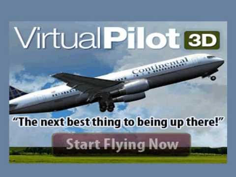 DOWNLOAD VirtualPilot3D For Free - Demo Airplane Simulator Games
