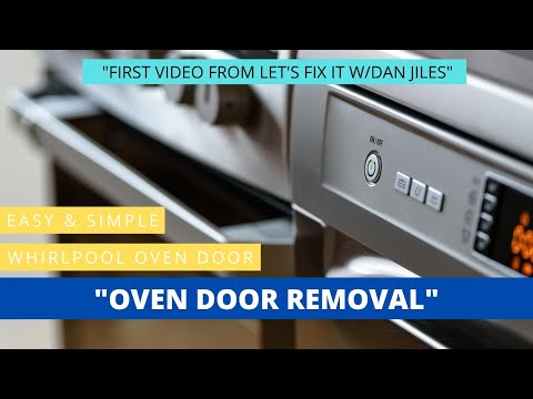 Whirlpool Oven Door Removal