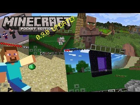 Minecraft PE: 0.9.0 UPDATE!