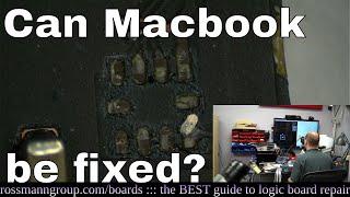 DESTROYED Macbook fixed by GENIUS technician! (Paul S)