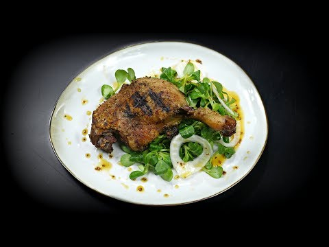 This is the secret to juicy grilled duck!!!