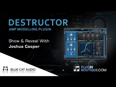 DESTRUCTOR Amp Modelling Plugin By Blue Cat Audio - Show & Reveal