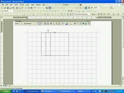 Drawing a Gridline in Microsoft Word 203