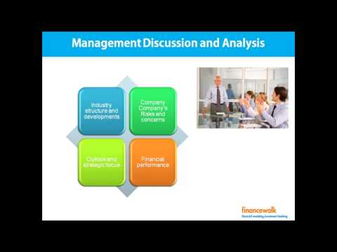 Read Director's Report, Management Discusssion & Analysis (MDA)