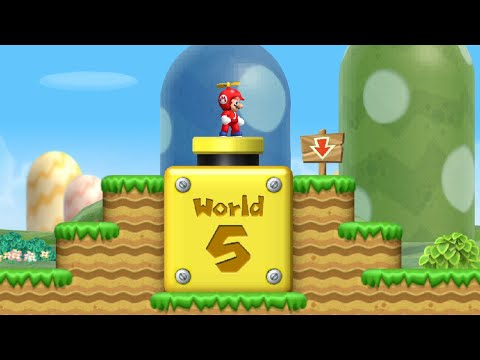 New Super Mario Bros. Wii - All Warp Cannons