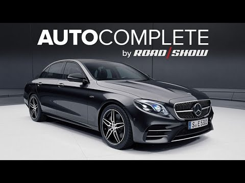 AutoComplete: Mercedes-AMG E53 sedan sports straight-six turbo power