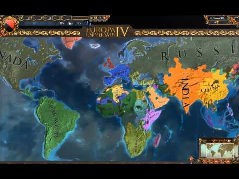 Modern Day Free For All: A Europa Universalis IV Extended Timeline Timelapse