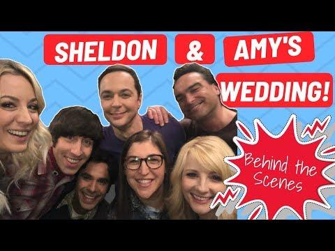The Big Bang Theory: Sheldon & Amy's Wedding Behind the Scenes!