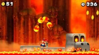 New Super Mario Bros  2 - 100% Walkthrough - World 5 (All