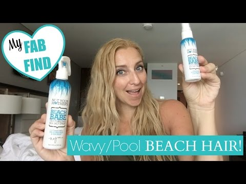 My Affordable FAB FIND for Easy, Wavy Pool/Beach Hair!