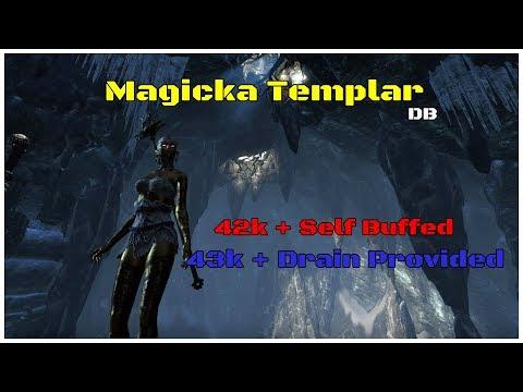 Magicka Templar Build (42k+ dps) Dragon Bones