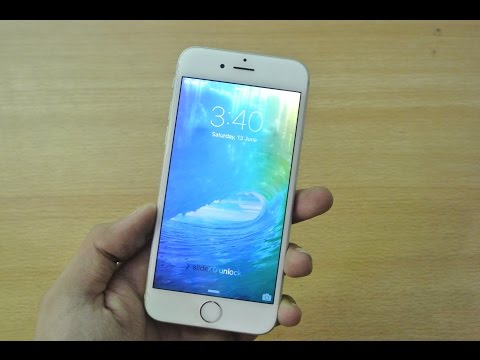 iPhone 6 - iOS 9 Beta 1 - Review HD