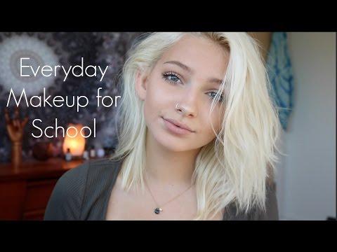 Back To School - Everyday Makeup Tutorial | Hannah Blair