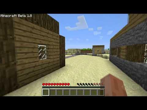 Minecraft 1.8: Village Exploration