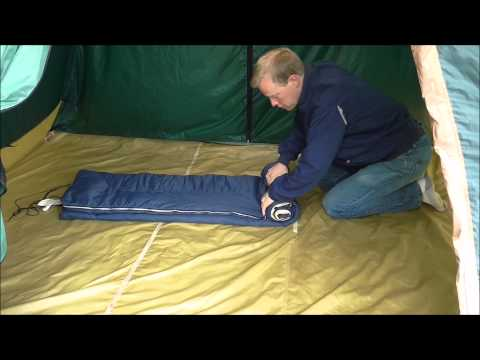 How To Tightly Roll Up A Sleeping Bag