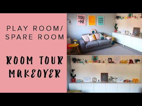 HOME TOUR   PLAY ROOM/SPARE ROOM