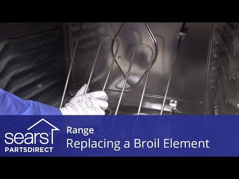 Replacing an Electric Oven Broil Element