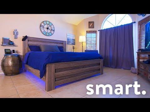 Epic Smart Home Bedroom Tech Tour!