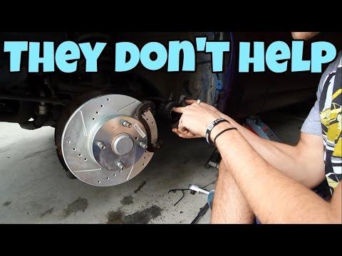 Installing Slotted Rotors and Ceramic Brake Pads