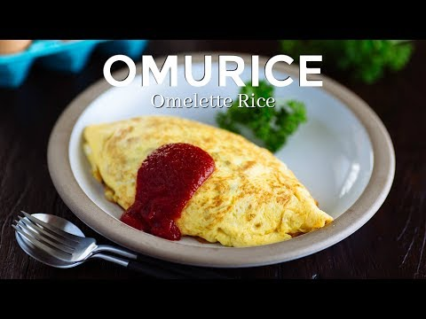 How To Make Omurice / Omelette Rice - Netflix