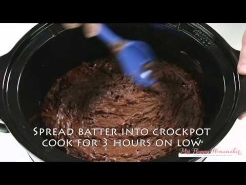 Crockpot Triple Chocolate Cake Recipe