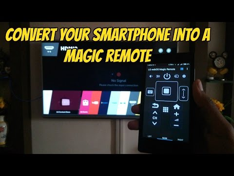 {Hindi} Control Your LG Smart TV With Your Smartphone | Convert into a Magic Remote !