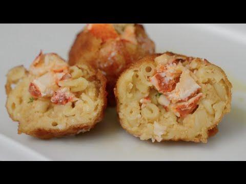 Mac n' Cheese Lobster Roll Balls