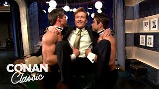 "Conan Debunks The Myths Of ""Late Night"" - ""Late Night With Conan O'Brien"""