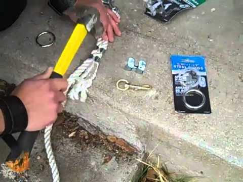 Making a Figure 8 Rope Leash