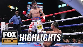 Manny Pacquiao vs. Keith Thurman Full Fight   HIGHLIGHTS   PBC ON FOX