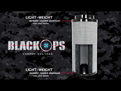 Black Ops Carbon Filters with Australian RC-412 Carbon