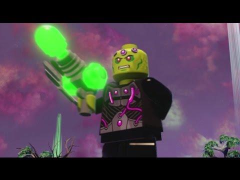 LEGO Batman 3 - Brainiac (Free Roam Gameplay + Brainiac Skull Ship Location)