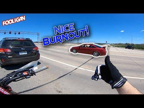 Longest KTM Wheelie (Almost Wrecked) + SS Burnout!
