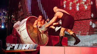 28 times Superstars smashed through stuff: WWE Fury, March 1, 2015