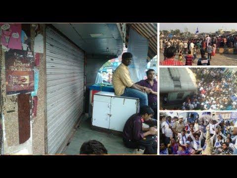 Mumbai bundh : Movement of Mumbai : DALIT ANDOLAN: LIVE UPDATES Of 02-01-2018 ,Tuesday