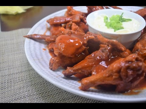 Real Easy - Buffalo Wings & Sour Cream Dip