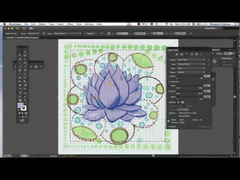 Image Trace in Illustrator CS6