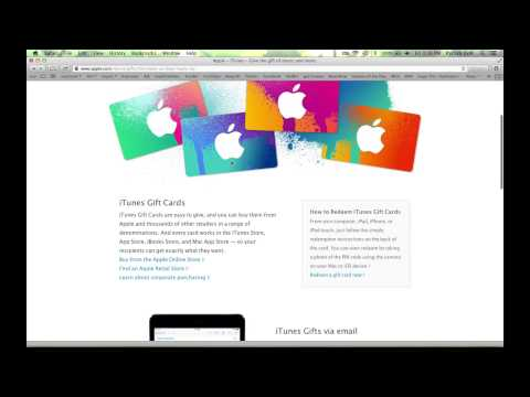 What Is an iTunes Card? : Help for iTunes