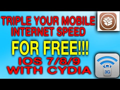 Triple Your Mobile Internet Speed for FREE With Cydia Tweak IOS 7/8/9