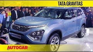 Auto Expo 2020 - Tata Safari (Gravitas) - 7 Seater SUV | Walkaround | Autocar India