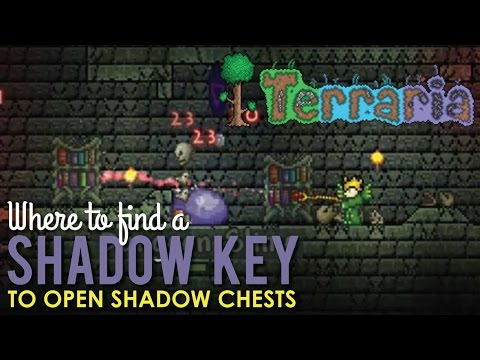 Where to Find a Shadow Key to Open Shadow Chests, Terraria
